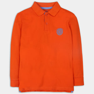 Hot Orange Polo