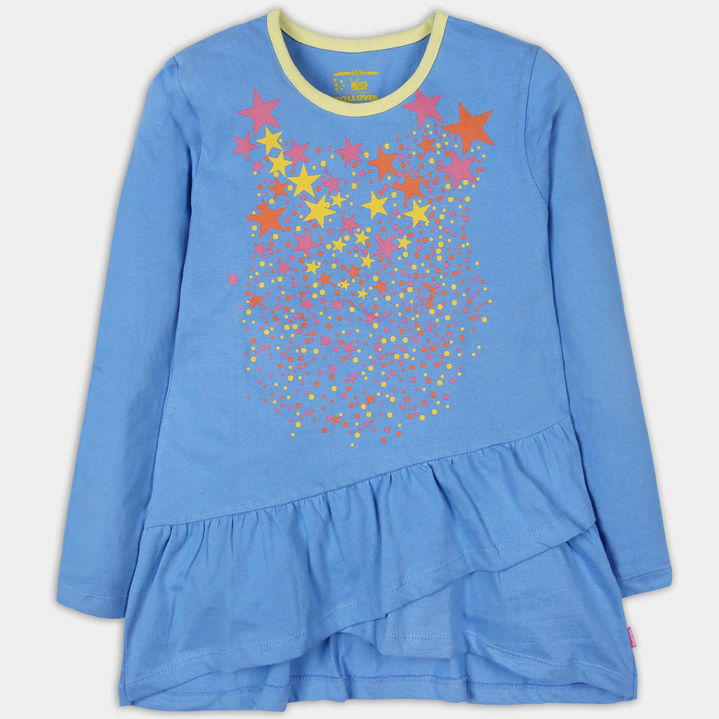 Star Dust Blue Top
