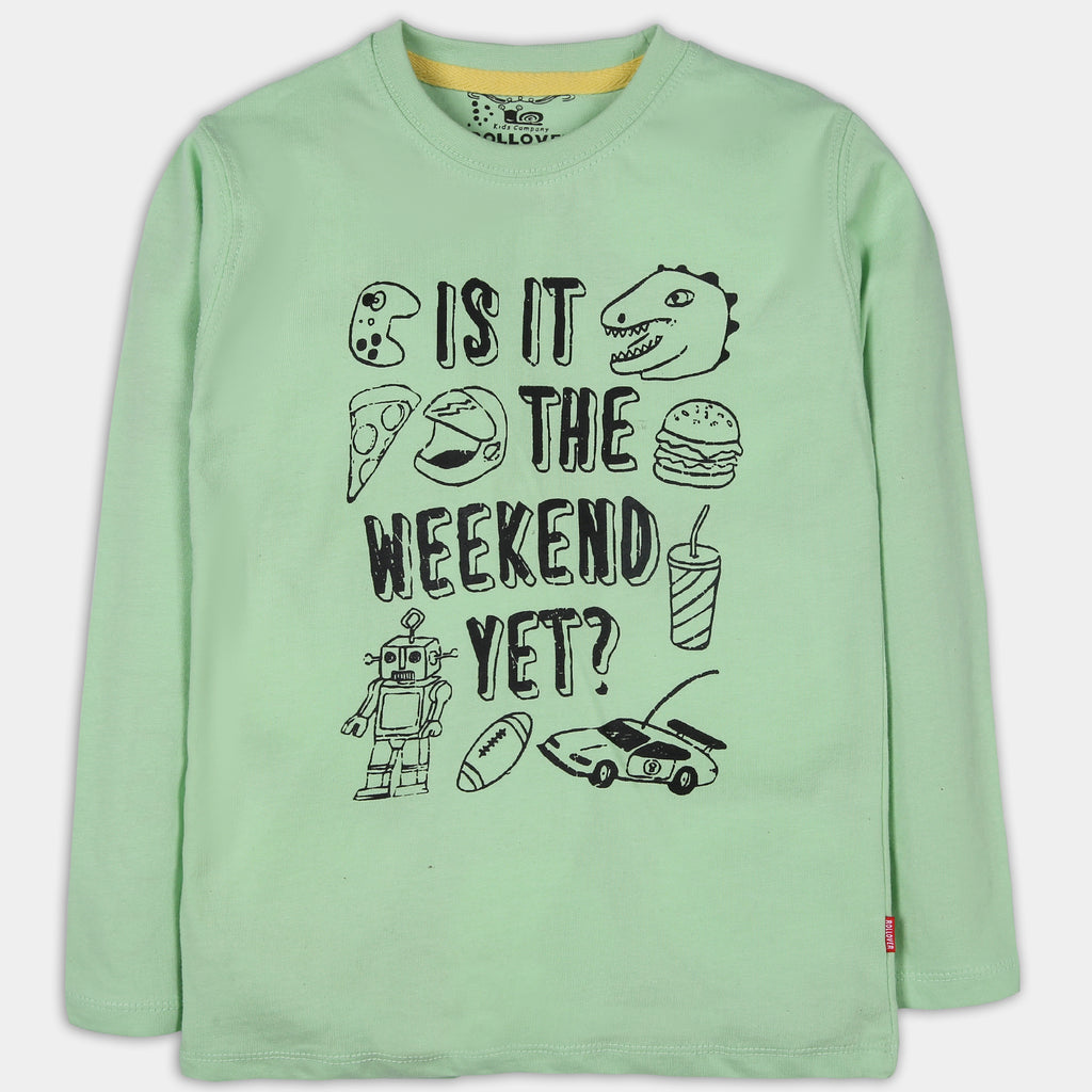 Green Weekend Shirt