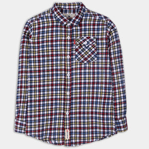 Multi-colored Checked Shirt