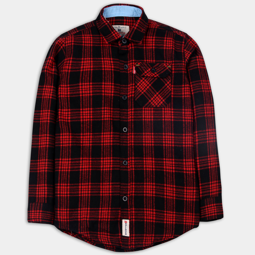 Red & Black Checked Shirt