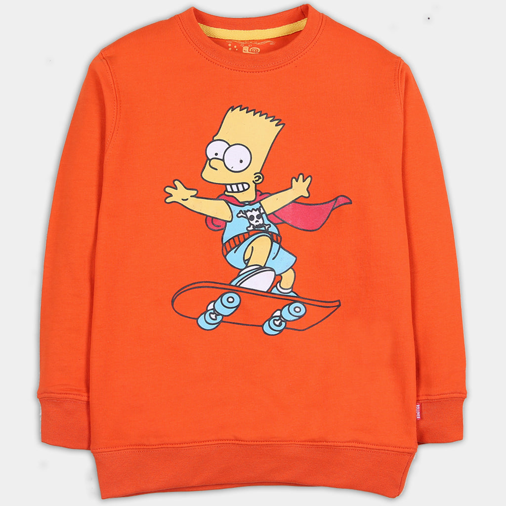 Simpsons Orange Shirt