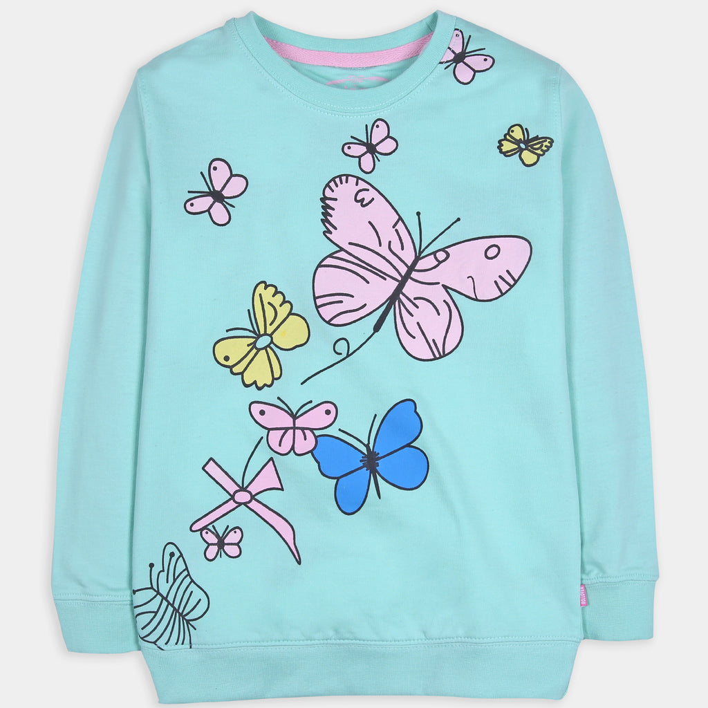 Blue Butterfly Shirt