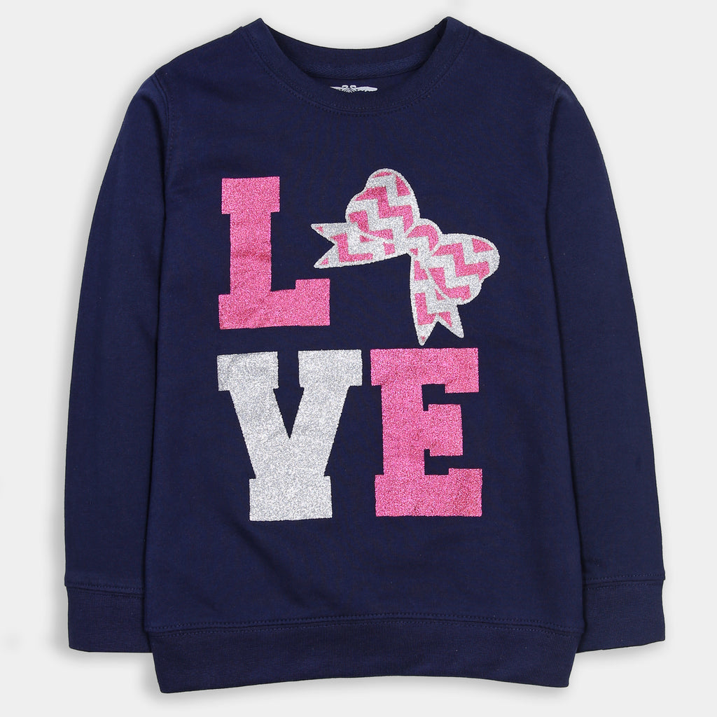 Navy Blue Love Shirt