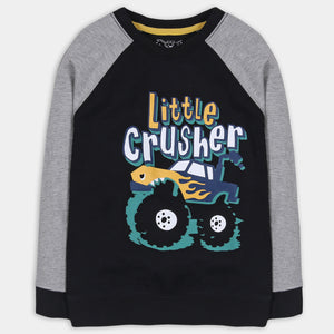 Black Crusher Shirt