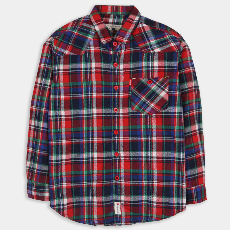 Classic Red Madras Shirt