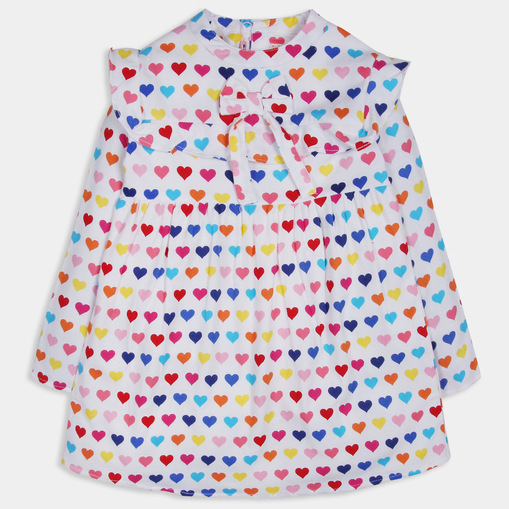 Colorful Heart Dress
