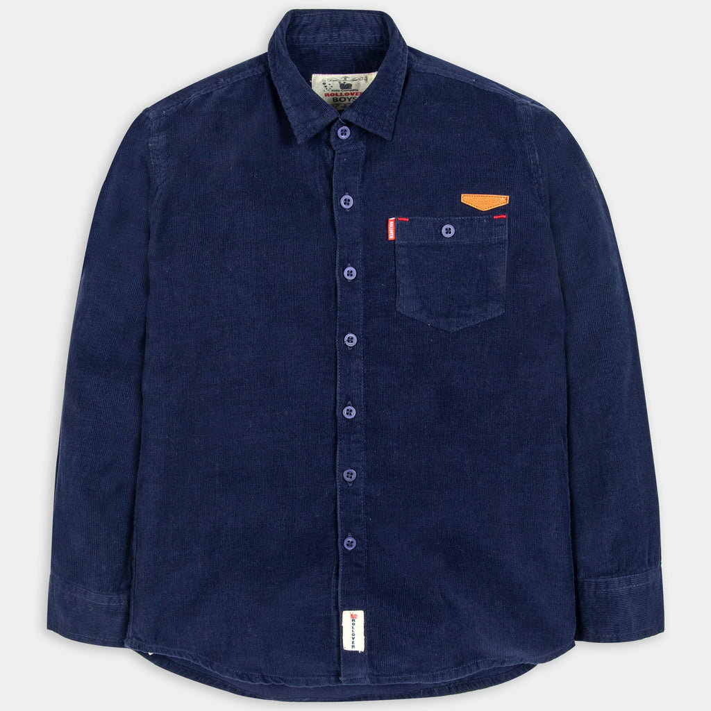 Blue Corduroy Shirt
