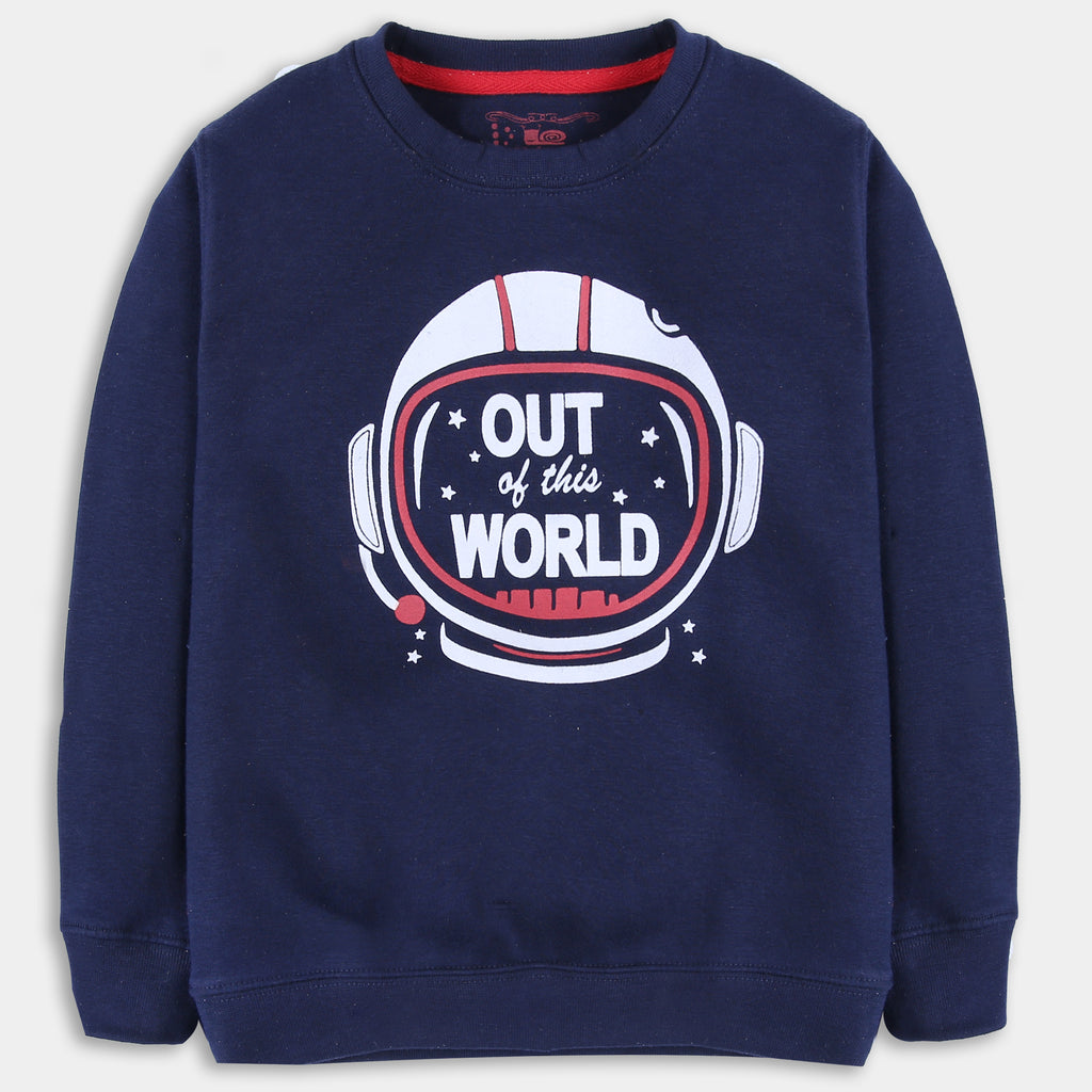 Navy Space Sweatshirt