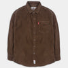Brown Corduroy Shirt