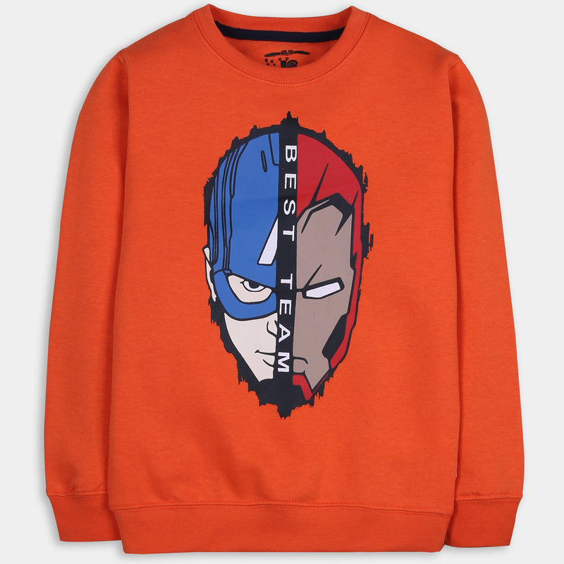 Tangy Orange Sweatshirt