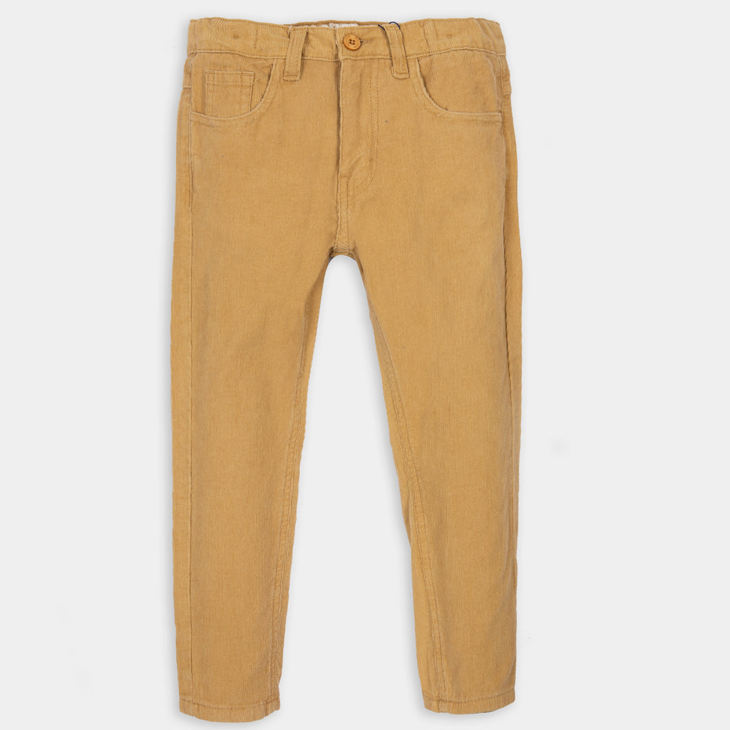 Camel Brown Corduroy Pants