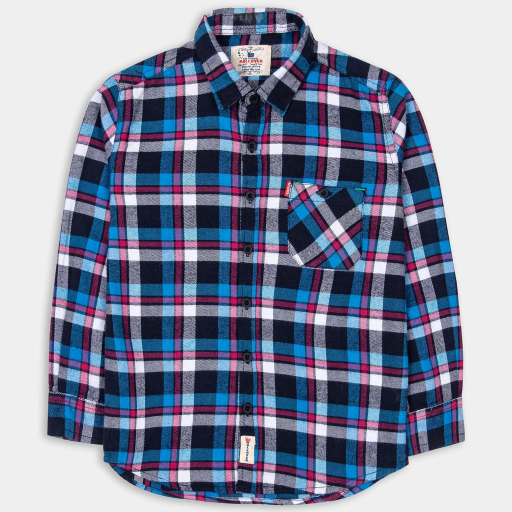 Admiral Blue Check Shirt
