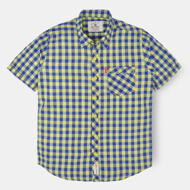 Yellow Checked Shirt