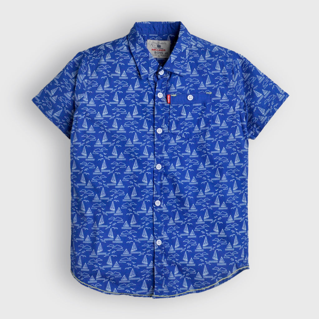 Blue Sailing Shirt