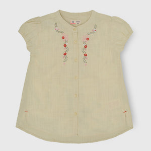 Fawn Embroidered Top