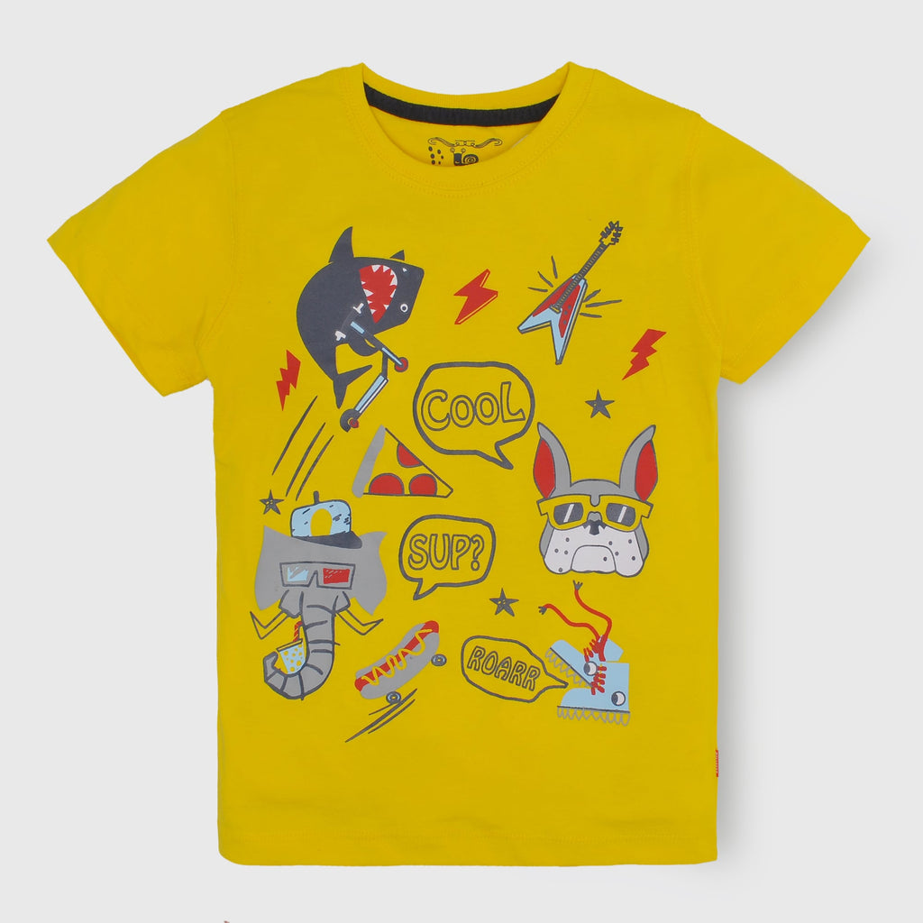 Cool Yellow T-Shirt
