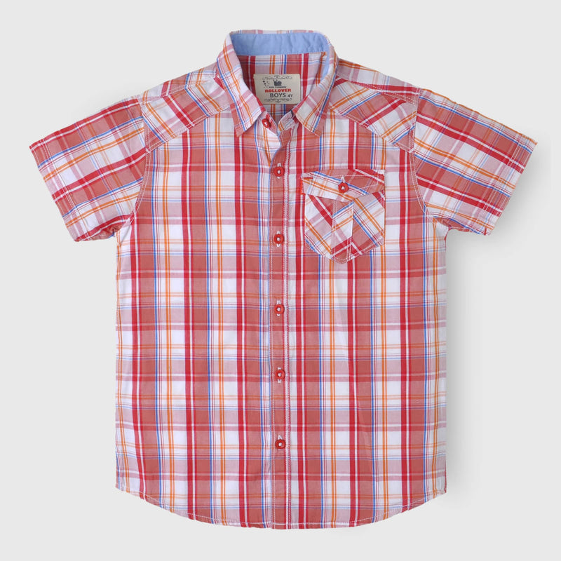 Red Box Check Shirt