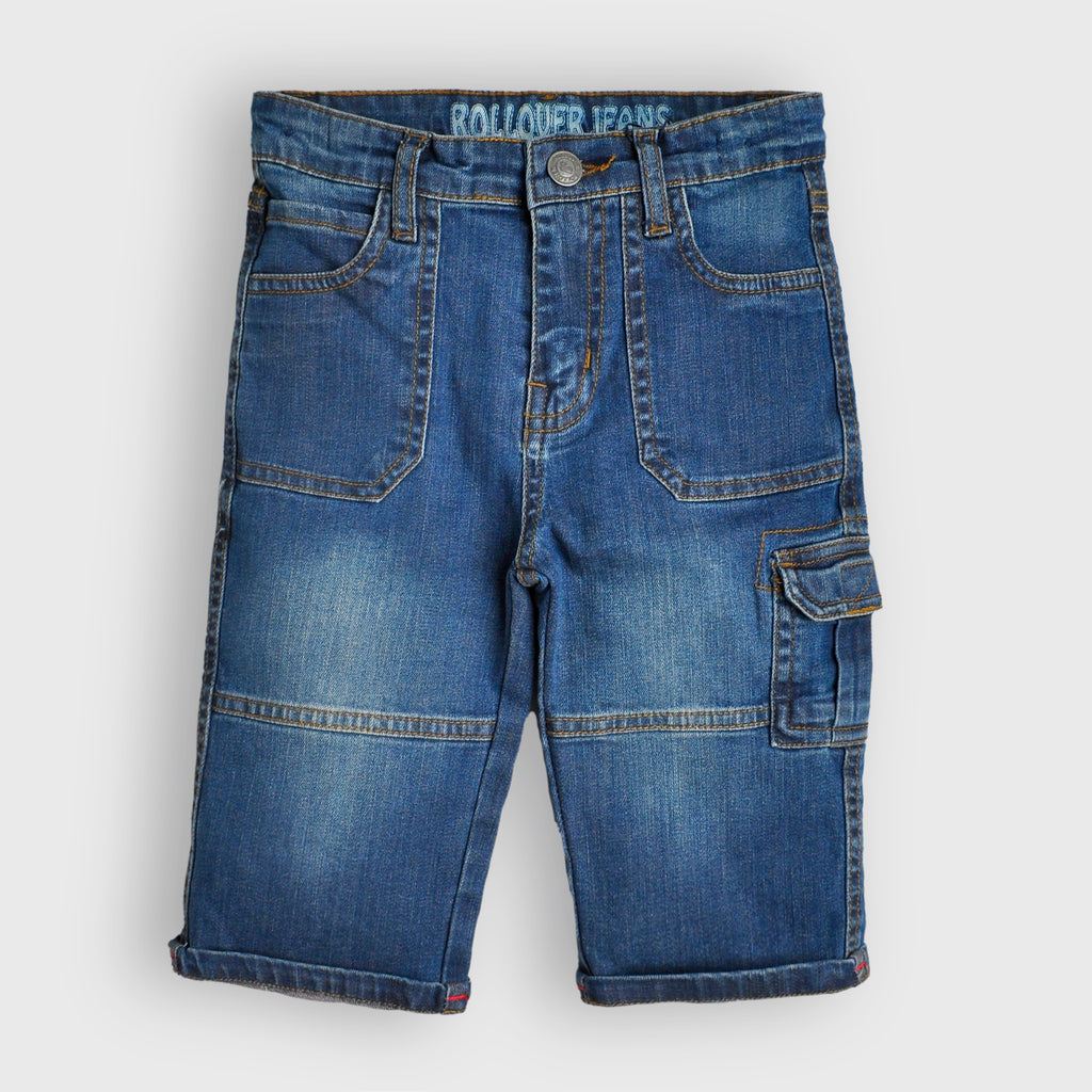 Blue Washed Shorts