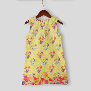 Buttercup Yellow Dress