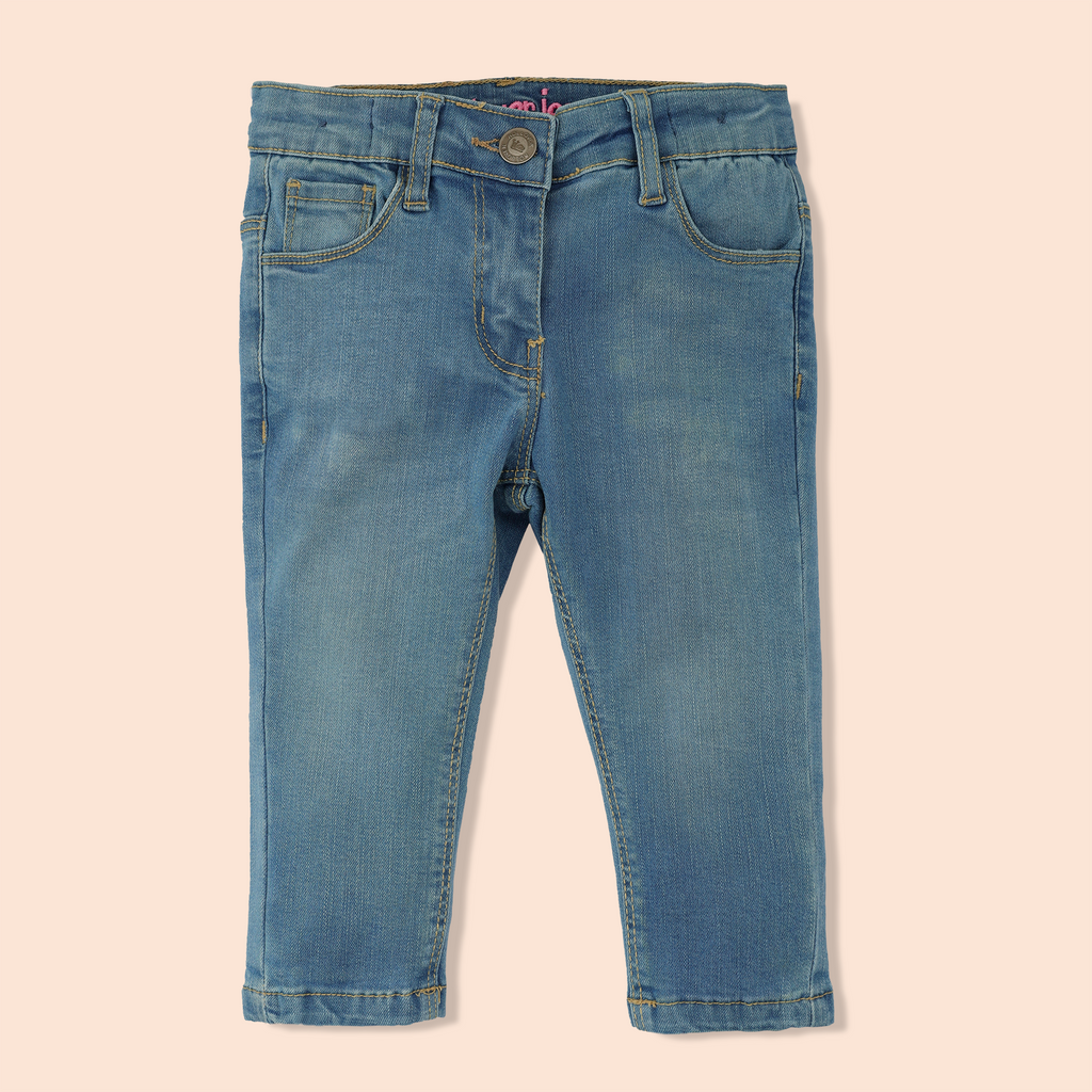 Girls Marlin Blue Jeans