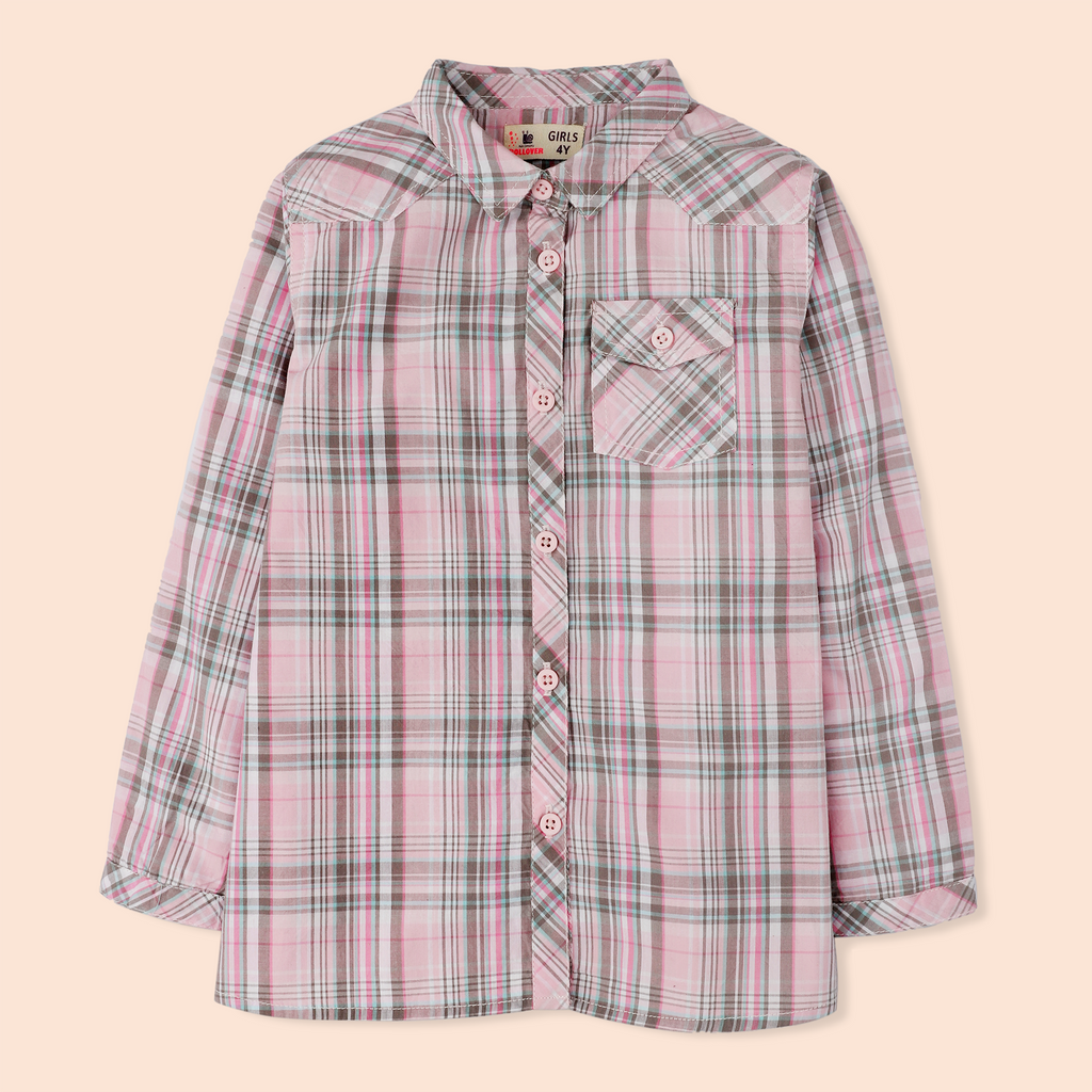 Blush Checker Shirt