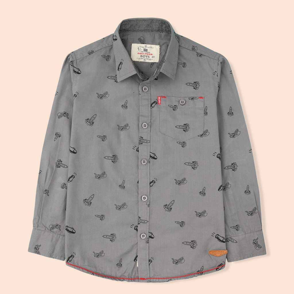 Grey Rocket Shirt