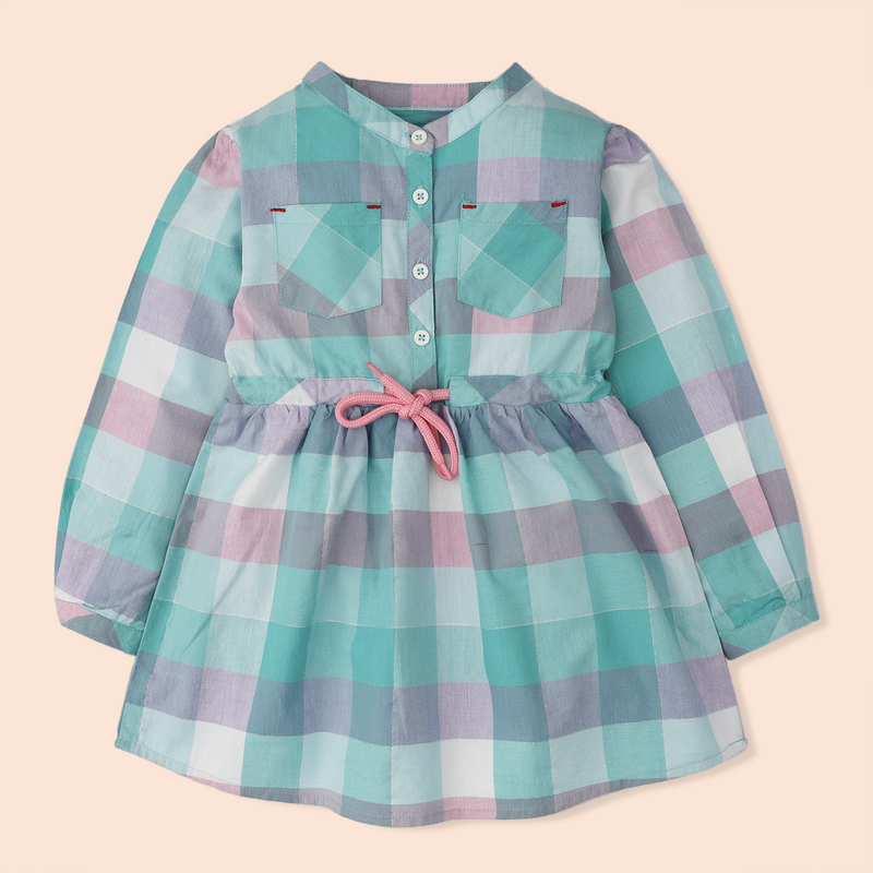 Pastel Pocket Dress
