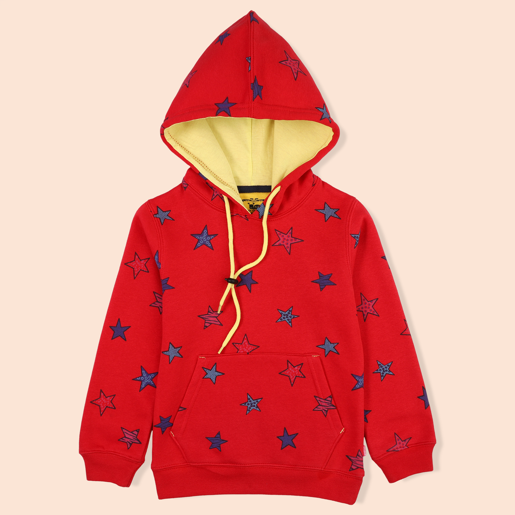 Starry Red Hoodie
