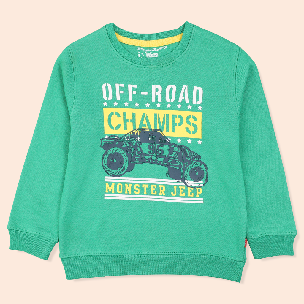 Monster Jeep Sweatshirt