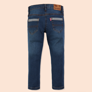 Girls Dark Blue Jeans