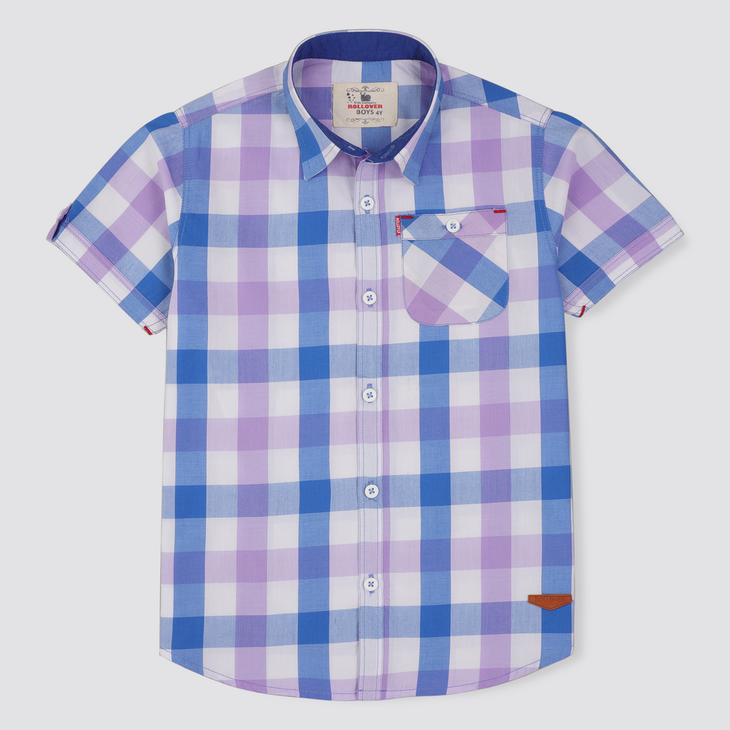 Orchid Check Shirt