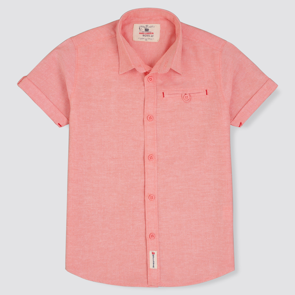 Salmon Peach Shirt