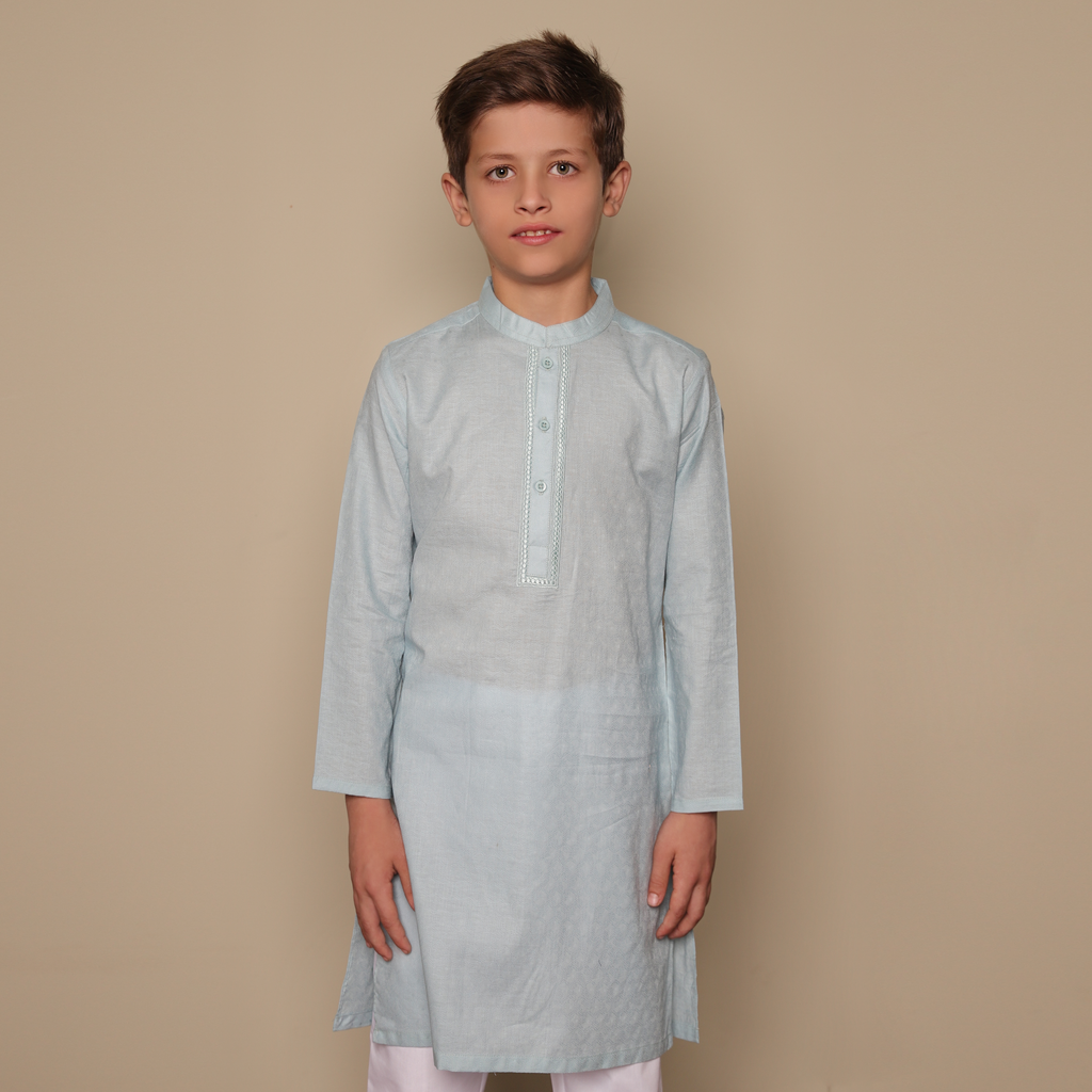 Cloud Grey Kurta