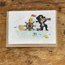 CARTE A PLANTER PIRATE