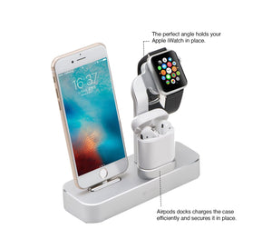 3-in-1 V Charging Dock (iWatch, iPhone & Airpod)