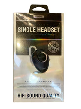 Load image into Gallery viewer, Bluetooth Headset - Matt White - Brushed Metallic
