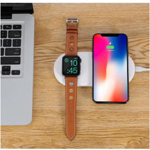 Load image into Gallery viewer, 2-in-1 V Wireless Charger Base (iWatch & iPhone)