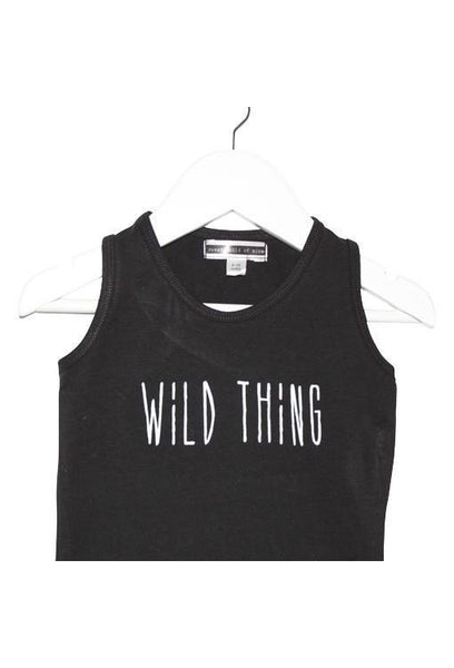 Wild Thing Sleeveless Baby Onesie