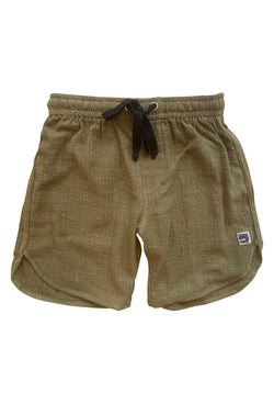 Thommo Walkshorts - Textured Olive