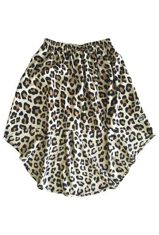 Billy Ray Skirt - Leopard Print