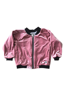 Bomber Jacket - Velvet Blush