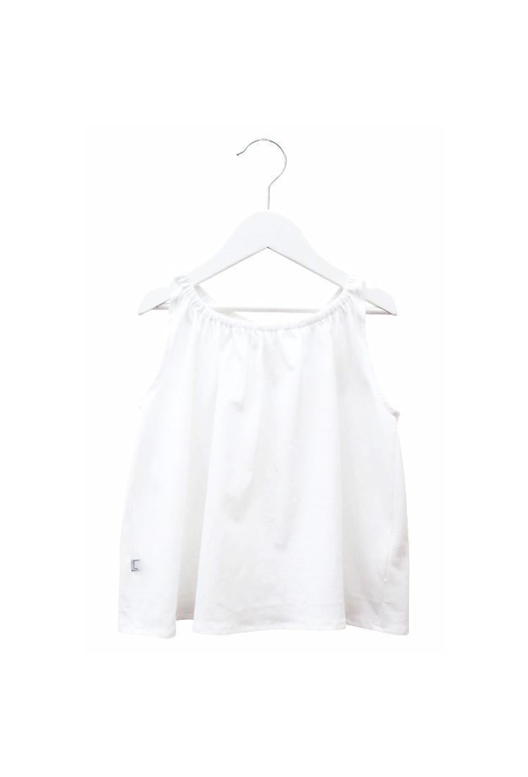 Butterfly Tank  - White
