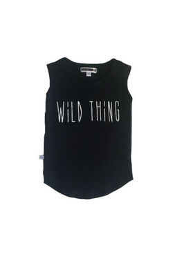 Wild Thing Muscle Tee - Black