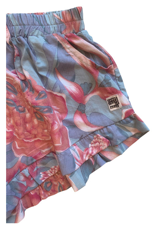 Bella Shorts - Rose Grey
