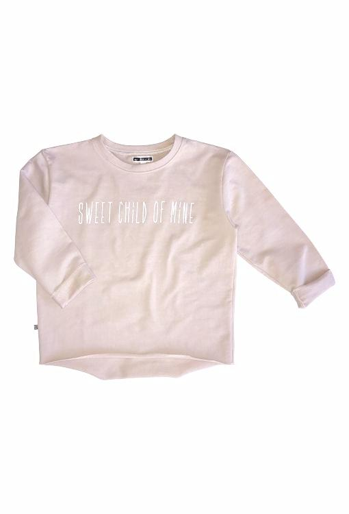 "Fame ""Sweet Child"" Sweatshirt Jumper - Blush Pink"