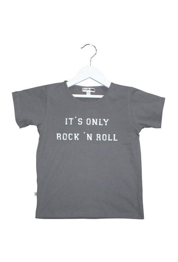 Rock 'n Roll Tee - Faded Black
