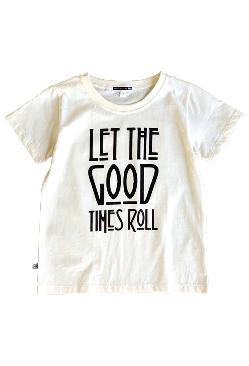 Let the Good Times Roll Tee - Ivory