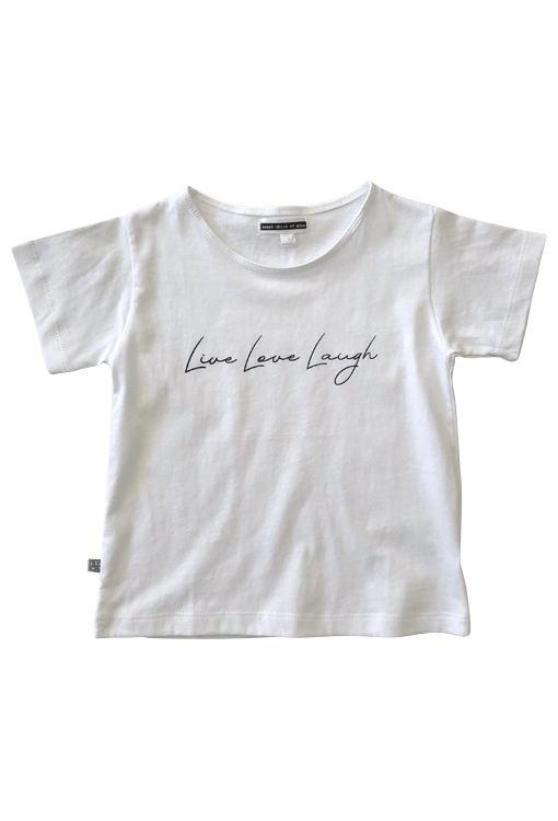 Live Love Laugh Tee - White