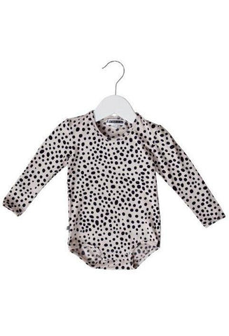 Ocelot Long Sleeve Baby Onesie